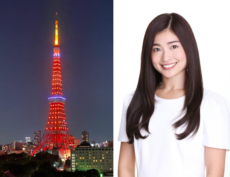 『STOP 児童虐待!東京タワーオレンジリボン大作戦』東京タワー点灯式
